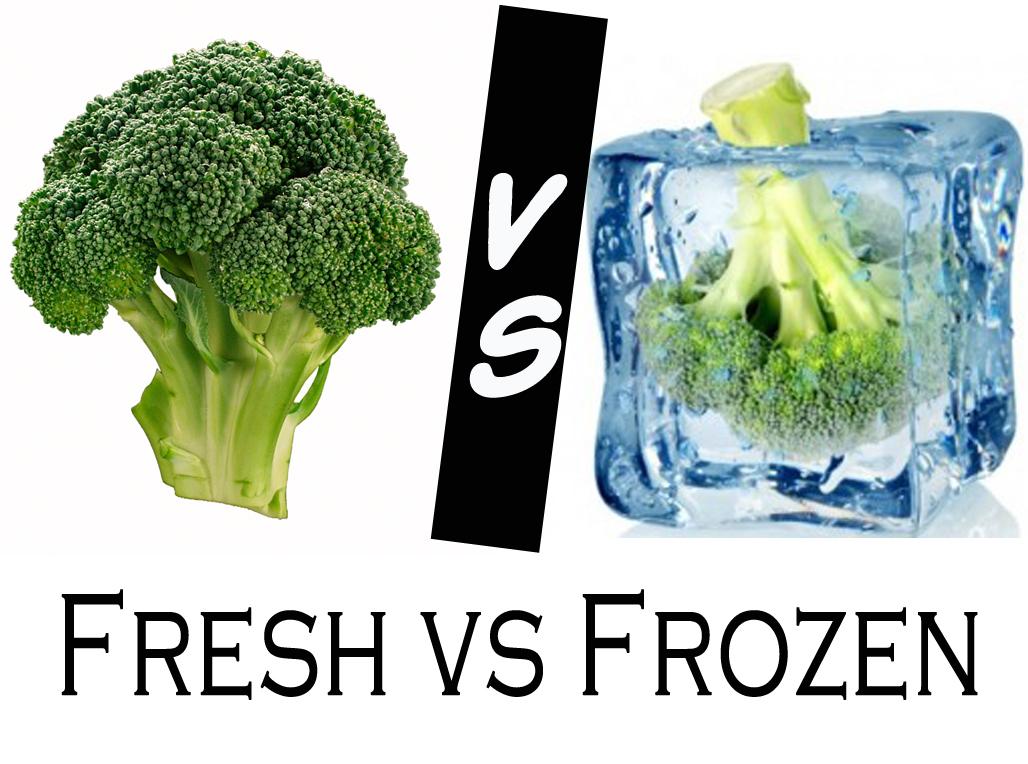 Fresh vs frozen for Meaning of frash