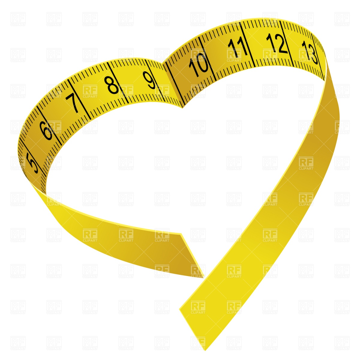 weight-loss-tape-measure-clipart-clipart-panda-free ...